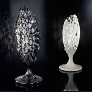 Italian Design Lighting Chrysalis Swarovski Tischleuchte
