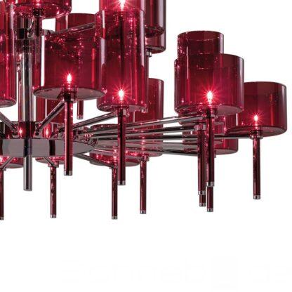 axo light.spillray.spill20.moderner kronleuchter.rot