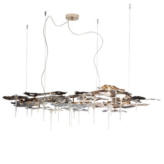 Italian Design Lighting Luce da Vivere Leaves Pendelleuchten