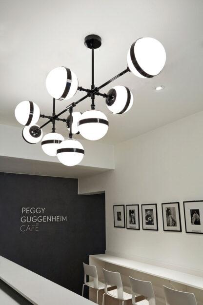 Vistosi Peggy SP9 Pendelleuchte Guggenheim Cafe Venedig