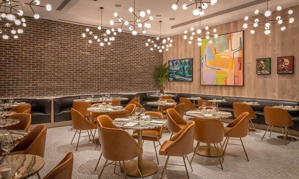the chancery grill seating